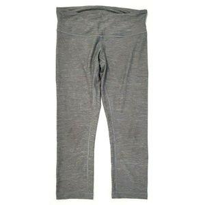 Lululemon Womens Align Crop Gray Leggings Size 6